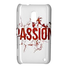 Passion And Lust Grunge Design Nokia Lumia 620 Hardshell Case by dflcprints