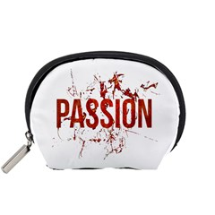 Passion And Lust Grunge Design Accessory Pouch (small) by dflcprints