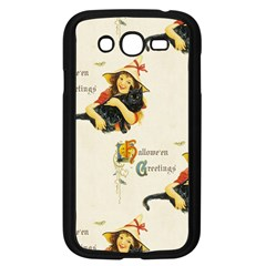 Hallowe en Greetings Samsung Galaxy Grand DUOS I9082 Case (Black)