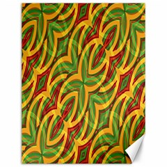 Tropical Colors Abstract Geometric Print Canvas 12  X 16  (unframed) by dflcprints
