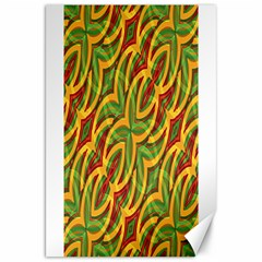 Tropical Colors Abstract Geometric Print Canvas 20  X 30  (unframed) by dflcprints