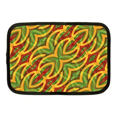 Tropical Colors Abstract Geometric Print Netbook Sleeve (Medium) by dflcprints