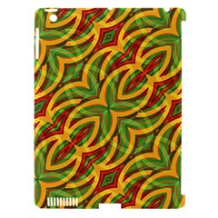 Tropical Colors Abstract Geometric Print Apple Ipad 3/4 Hardshell Case (compatible With Smart Cover) by dflcprints