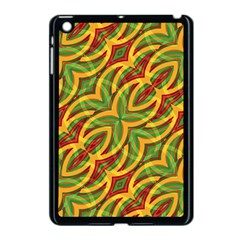 Tropical Colors Abstract Geometric Print Apple Ipad Mini Case (black) by dflcprints