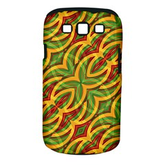 Tropical Colors Abstract Geometric Print Samsung Galaxy S Iii Classic Hardshell Case (pc+silicone) by dflcprints