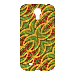 Tropical Colors Abstract Geometric Print Samsung Galaxy S4 I9500/i9505 Hardshell Case by dflcprints