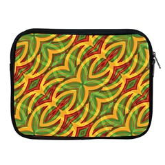 Tropical Colors Abstract Geometric Print Apple Ipad Zippered Sleeve by dflcprints
