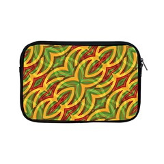 Tropical Colors Abstract Geometric Print Apple Ipad Mini Zippered Sleeve by dflcprints