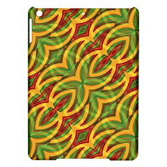 Tropical Colors Abstract Geometric Print Apple Ipad Air Hardshell Case by dflcprints