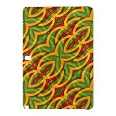 Tropical Colors Abstract Geometric Print Samsung Galaxy Tab Pro 10 1 Hardshell Case