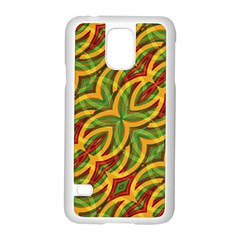 Tropical Colors Abstract Geometric Print Samsung Galaxy S5 Case (white) by dflcprints