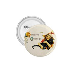 Hallowe en Greetings 1.75  Button by EndlessVintage