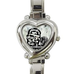 M G Firetested Heart Italian Charm Watch  by holyhiphopglobalshop1