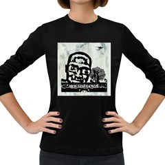 M G Firetested Women s Long Sleeve T Shirt (dark Colored) by holyhiphopglobalshop1