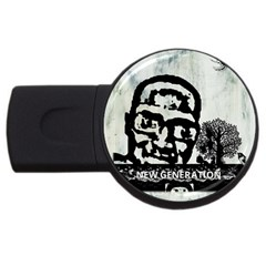 M G Firetested 4gb Usb Flash Drive (round) by holyhiphopglobalshop1