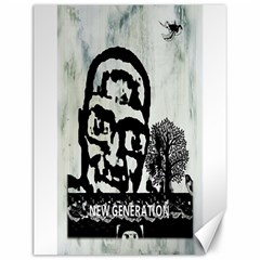 M G Firetested Canvas 12  X 16  (unframed) by holyhiphopglobalshop1