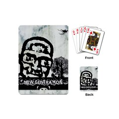 M G Firetested Playing Cards (mini) by holyhiphopglobalshop1
