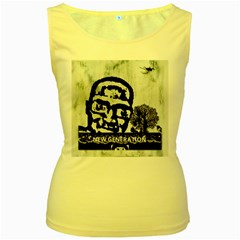 M G Firetested Women s Tank Top (yellow) by holyhiphopglobalshop1