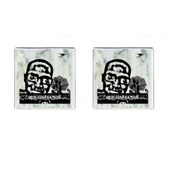 M G Firetested Cufflinks (square) by holyhiphopglobalshop1
