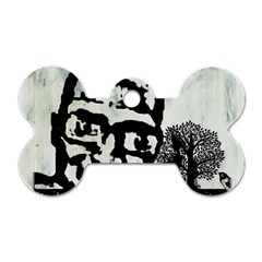 M G Firetested Dog Tag Bone (two Sided) by holyhiphopglobalshop1