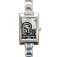 M G Firetested Rectangular Italian Charm Watch by holyhiphopglobalshop1