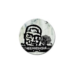 M G Firetested Golf Ball Marker by holyhiphopglobalshop1