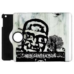 M G Firetested Apple Ipad Mini Flip 360 Case by holyhiphopglobalshop1