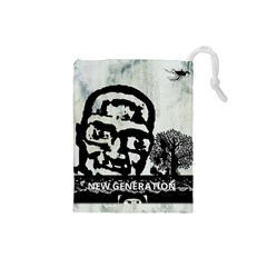 M G Firetested Drawstring Pouch (small) by holyhiphopglobalshop1