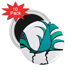 Fantasy Bird 2 25  Button Magnet (10 Pack) by dflcprints
