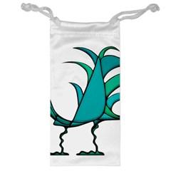 Fantasy Bird Jewelry Bag by dflcprints