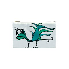Fantasy Bird Cosmetic Bag (small) by dflcprints