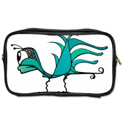 Fantasy Bird Travel Toiletry Bag (two Sides) by dflcprints