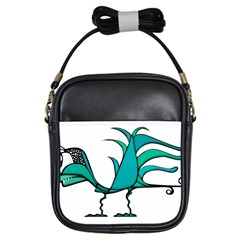 Fantasy Bird Girl s Sling Bag by dflcprints