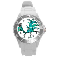 Fantasy Bird Plastic Sport Watch (large) by dflcprints