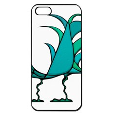 Fantasy Bird Apple Iphone 5 Seamless Case (black) by dflcprints