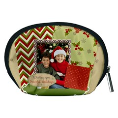 Merry Christmas By Merry Christmas   Accessory Pouch (medium)   5atet94z9w88   Www Artscow Com Back