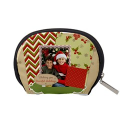 Merry Christmas By Merry Christmas   Accessory Pouch (small)   B155foez1pw6   Www Artscow Com Back
