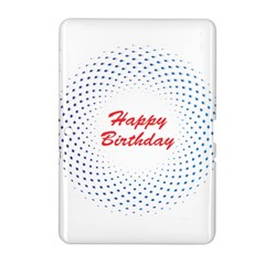 Halftone Circle With Squares Samsung Galaxy Tab 2 (10 1 ) P5100 Hardshell Case  by rizovdesign