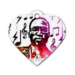 Iamholyhiphopforever 11 Yea Mgclothingstore2 Jpg Dog Tag Heart (one Sided)  by christianhiphopWarclothe