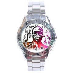 Iamholyhiphopforever 11 Yea Mgclothingstore2 Jpg Stainless Steel Watch by christianhiphopWarclothe