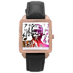 Iamholyhiphopforever 11 Yea Mgclothingstore2 Jpg Rose Gold Leather Watch  by christianhiphopWarclothe