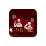 xmas - Rubber Coaster (Square)