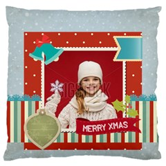 Xmas By Xmas   Large Cushion Case (two Sides)   53nohpt0i1cq   Www Artscow Com Front