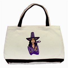 Purple Witch Classic Tote Bag by FunWithFibro