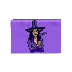 Purple Witch Cosmetic Bag (medium) by FunWithFibro