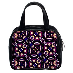 Colorful Tribal Pattern Print Classic Handbag (two Sides) by dflcprints