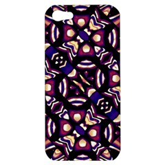 Colorful Tribal Pattern Print Apple Iphone 5 Hardshell Case by dflcprints