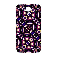 Colorful Tribal Pattern Print Samsung Galaxy S4 I9500/i9505  Hardshell Back Case by dflcprints