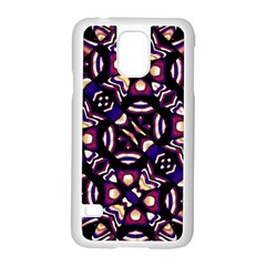 Colorful Tribal Pattern Print Samsung Galaxy S5 Case (white)