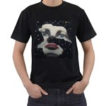 jake - Men s T-Shirt (Black) (Two Sided)